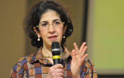 Premio Renata Borlone 2015 al fisico Fabiola Gianotti