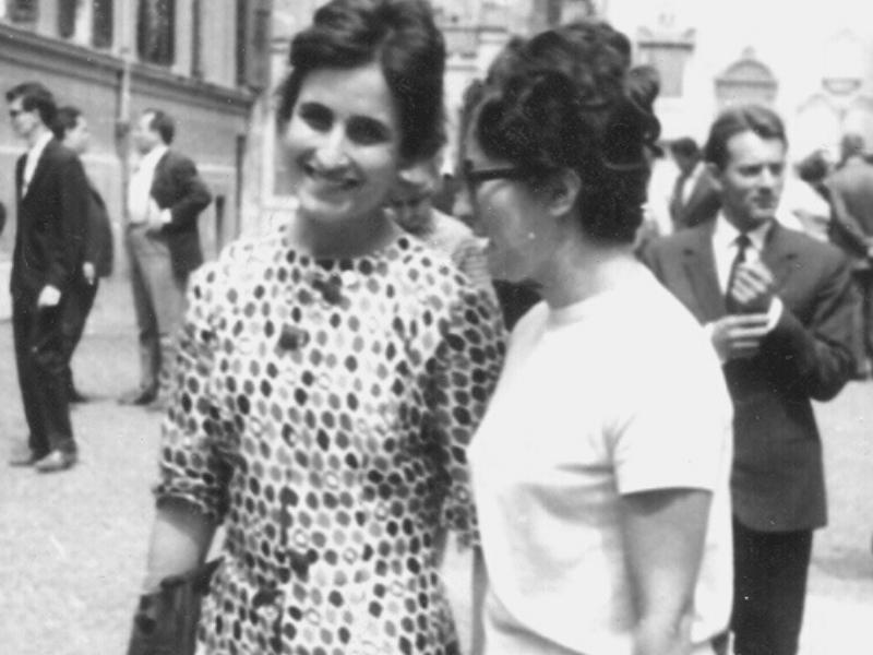 Renata Borlone da giovane
