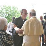 Foto Mario Bodiga con il Papa