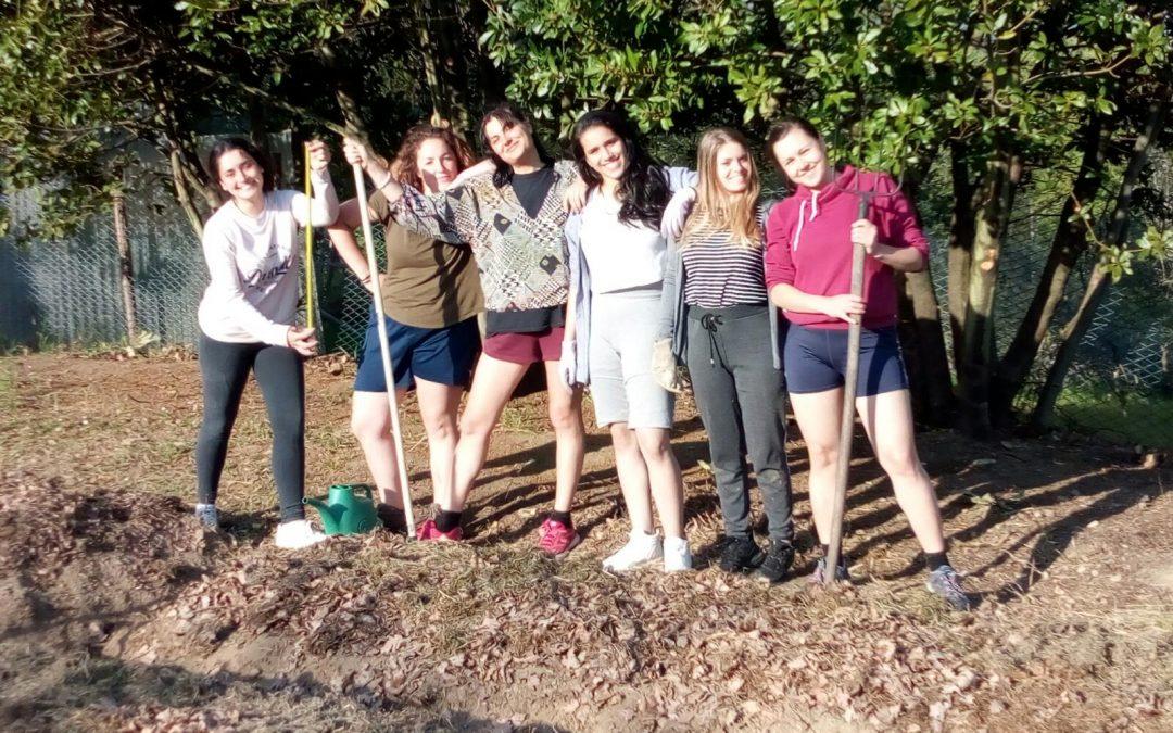 The garden of the girls