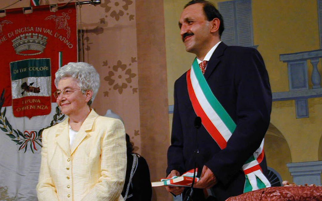 Loppiano, 21years after Chiara Lubich was made a citizen of Incisa