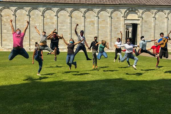 progetto giovani gita a Pisa