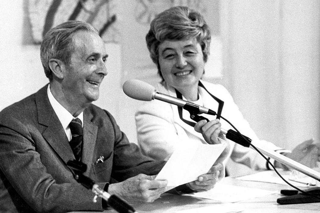 Chiara Lubich e Igino Giordani