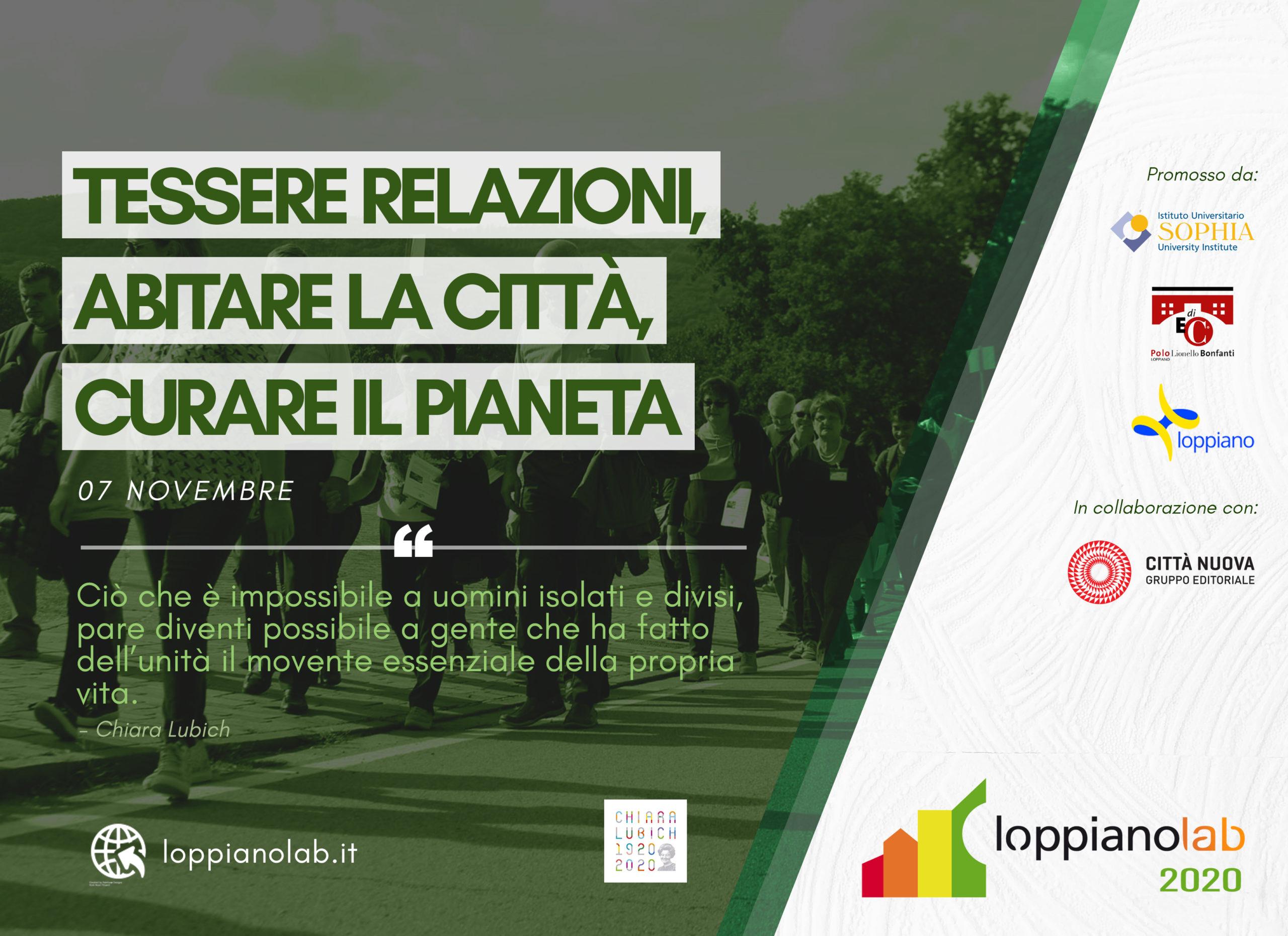 Loppianolab 2020 - 7 novembre
