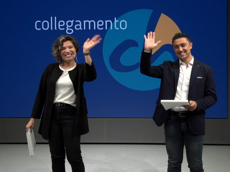 """Collegamento CH"" on October 3"