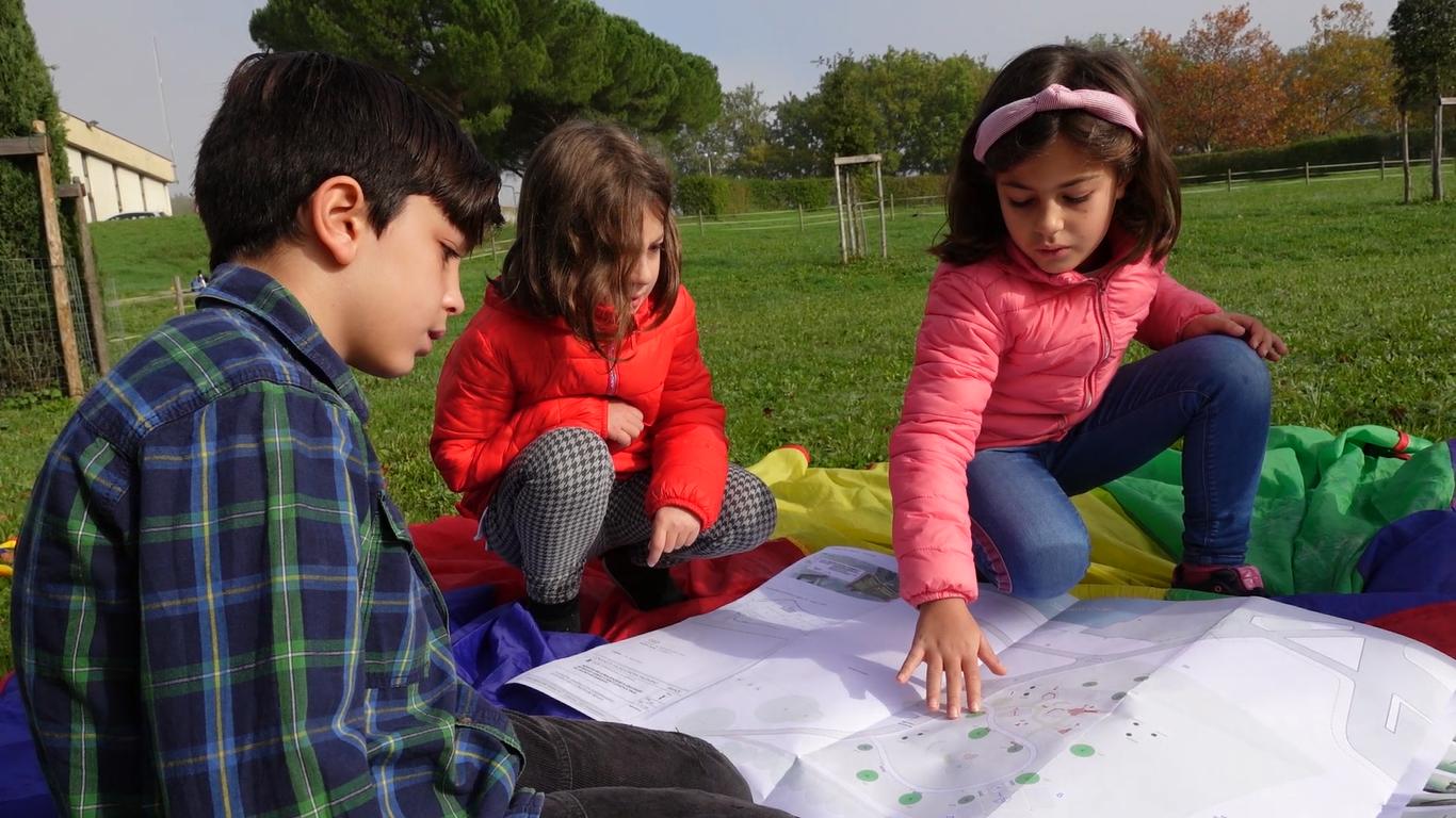 Bambini &Progetto Parco