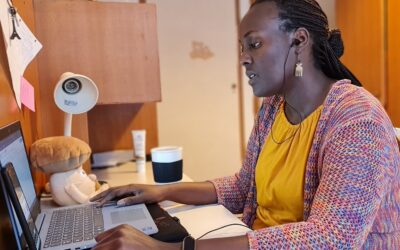 Marilène, a native of Burundi, open to the world