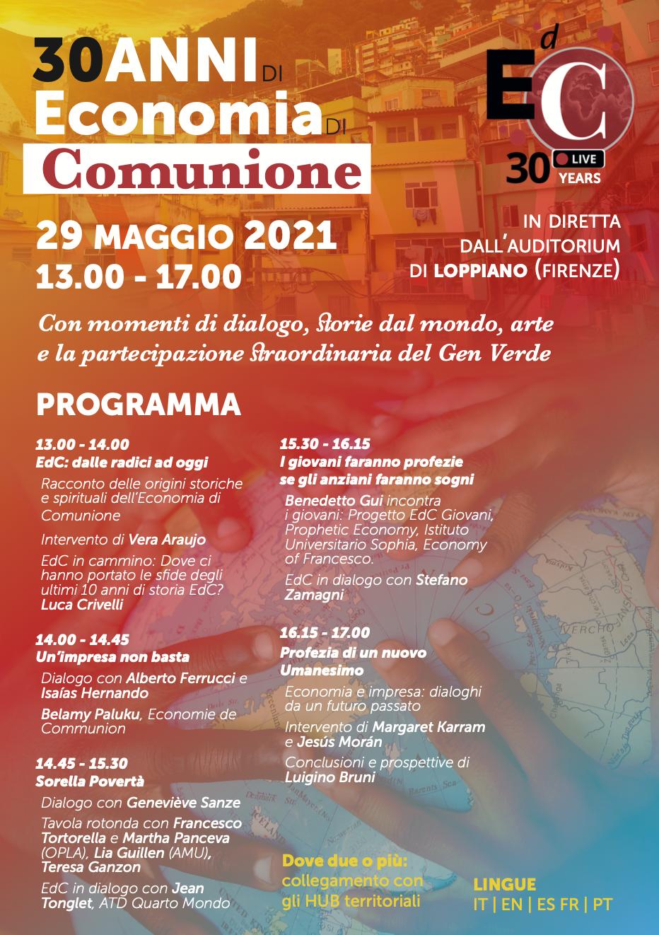 Programma 30 anni EdC