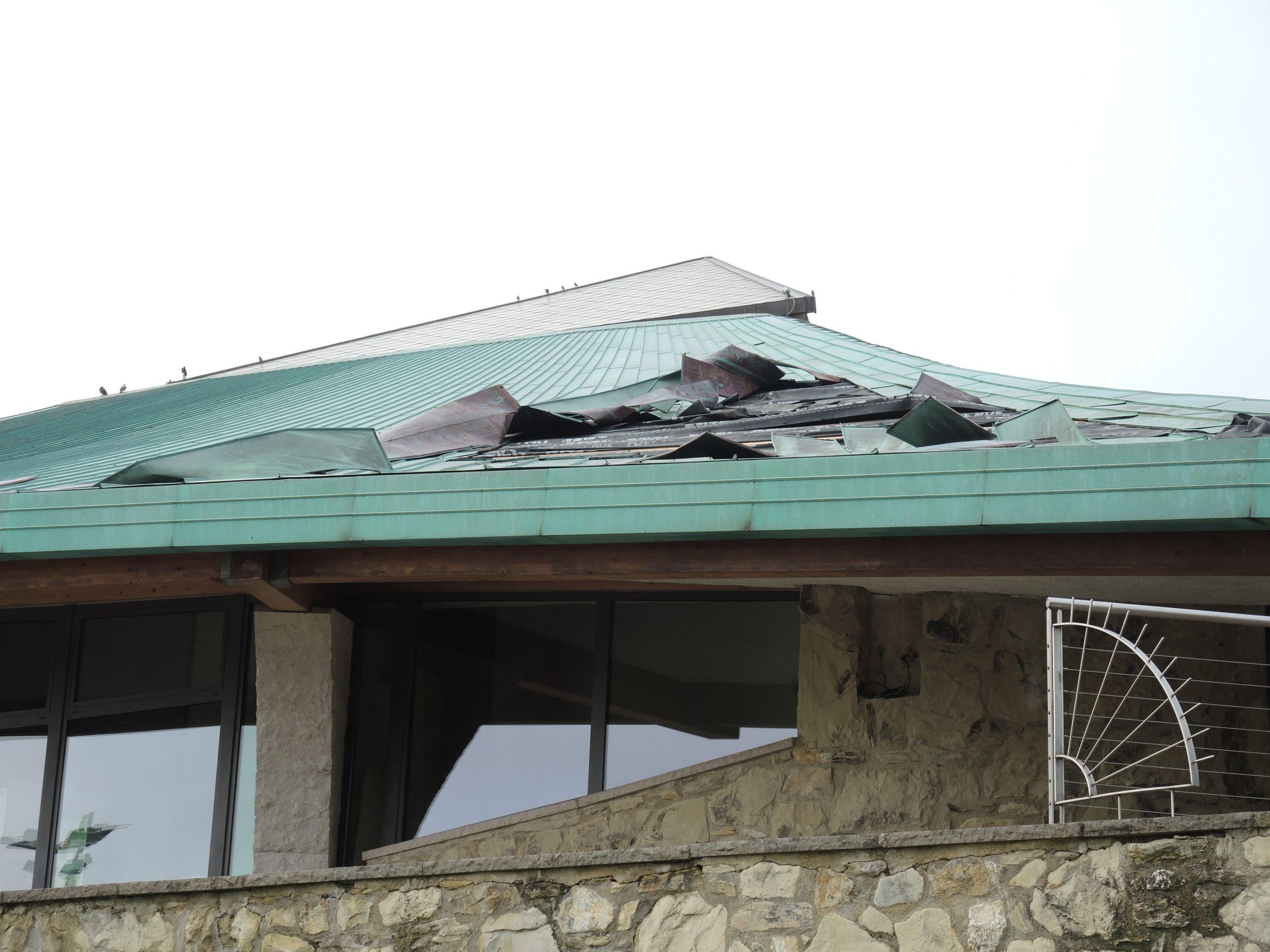 Dettaglio tetto Theotokos